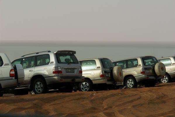 dune bashing pripreme za polazak
