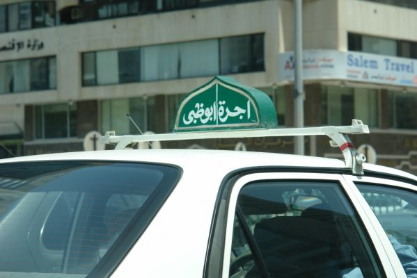 taxi u Abu Dhabiju